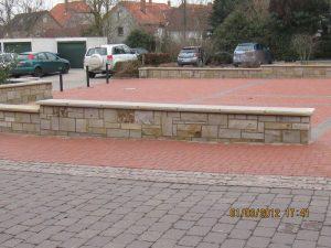 Gartenmauern Baubetrieb Kiltsch - Sandsteinmauer