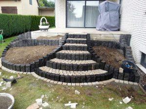 Treppenanlagen-Pflasterarbeiten