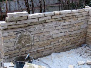 Gartenmauern Baubetrieb Kiltsch - Terassenmauer