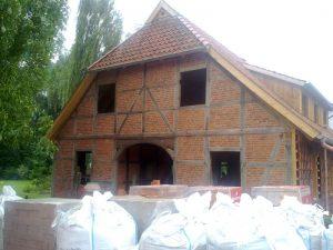 Fachwerkhaus ausgekernt
